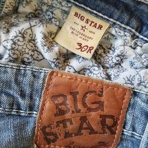 Big Star Jeans - Big Star Maddie mid rise fit 30 R  29 inseam